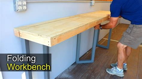 how to get bench up diy folding workbench how to shipping container shop
