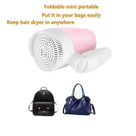 Hair Dryer With Cold Switch buy kemei km 6831 1600 watt foldable portable mini