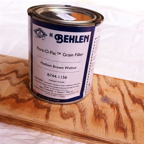painting oak cabinets grain filler grain filler for oak cabinets h behlen pore o pac grain