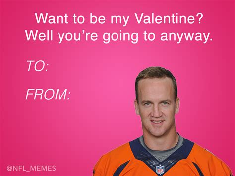Valentines Cards Memes - this year s batch of nfl themed valentines day cards