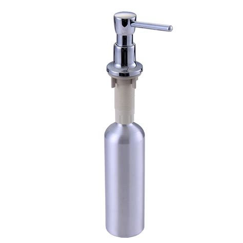 Soap Dispensers For Kitchen Sink Kitchen Sink Soap Dispenser Sink Detergent Bottle Copper Aluminum Bottle Deck Mounted In