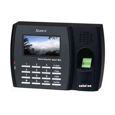 Mesin Absensi Solution X700 jual fingerprint mesin absensi solution terbaru harga murah blibli
