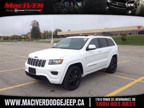dodge jeep white 2015 white jeep grand cherokee laredo newmarket ontario