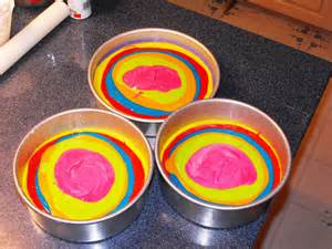 color cake rainbow colored cake batter how cakecentral