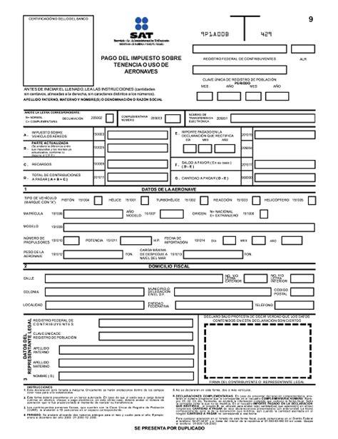 formulario hacienda retencion dof diario oficial de la federaci 243 n