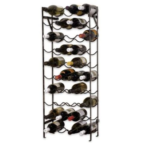 wine rack bed bath and beyond buy oenophilia under cabinet wine glass rack from bed bath