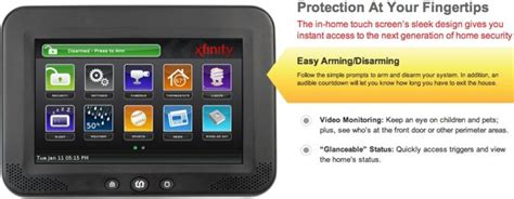 comcast xfinity home security price and review for new