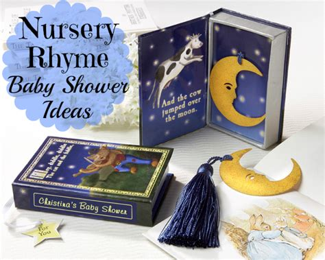 nursery rhyme baby shower ideas aa gifts baskets idea blog
