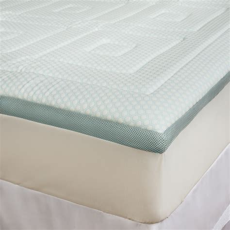Cooling Mattress Topper by Sensorpedic Regal Cooling Foam Mattress Topper King