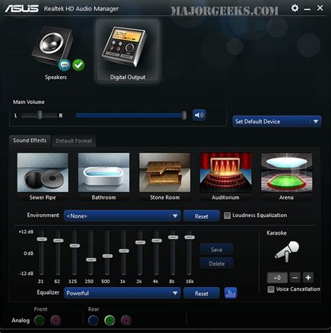asus realtek audio driver windows 7 realtek hd audio driver r2 35 x32 x64 betaprikaz
