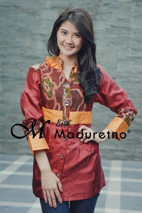 Batik Blouse Dress Tulis Madura 25 best ideas about batik fashion on