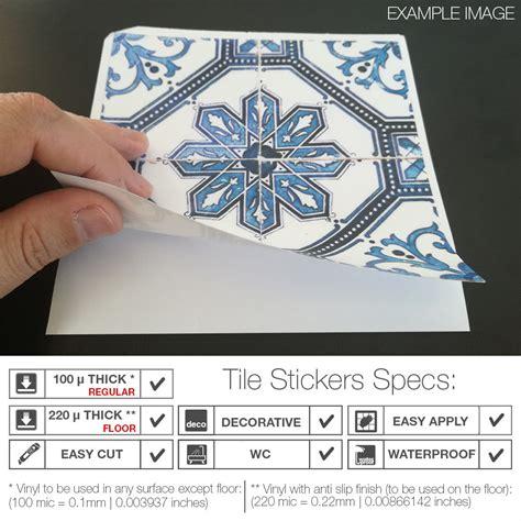 pattern tile stickers greek pattern tile stickers pack of 30