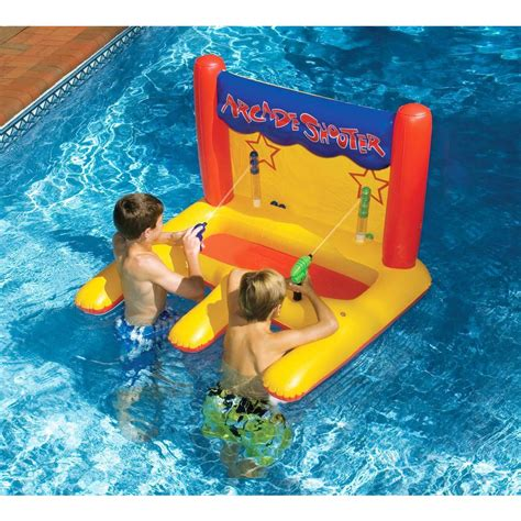 Pool Toys swimline dual arcade shooter pool nt266 the home depot