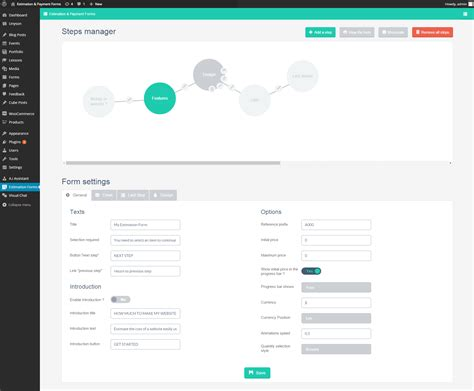 Estimation Form Hola Klonec Co Wp Cost Estimation Payment Forms Builder Templates
