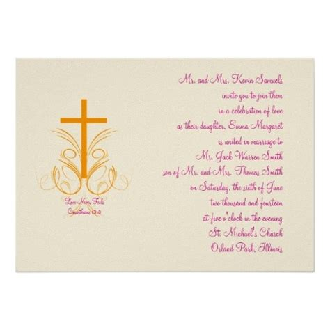 Wedding Invitation Cards Christian by 11 Best Christian Wedding Invitation Wording Images On