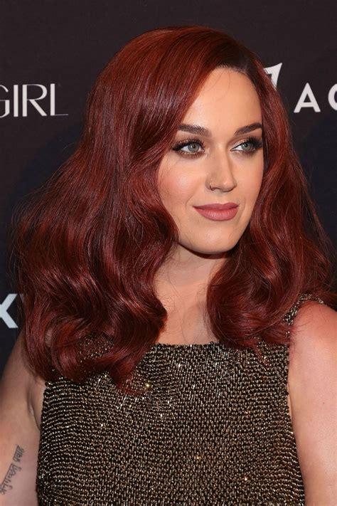 katy perry hair color katy perry s new auburn hair news