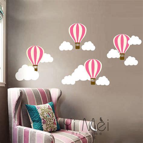 decora 231 227 o bal 227 o de ar quente nuvem adesivo de parede