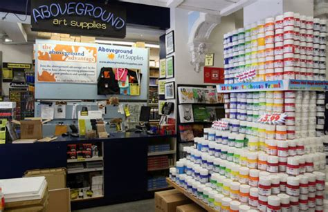 design quarter art shop aboveground art supplies blogto toronto