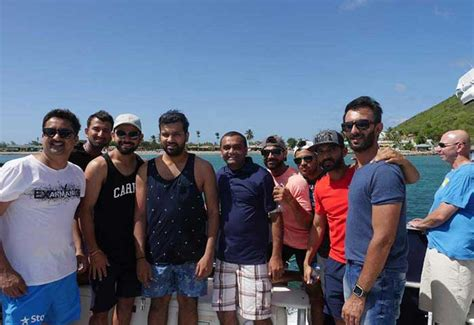 Team India Bonds In Nevis Photo Gallery