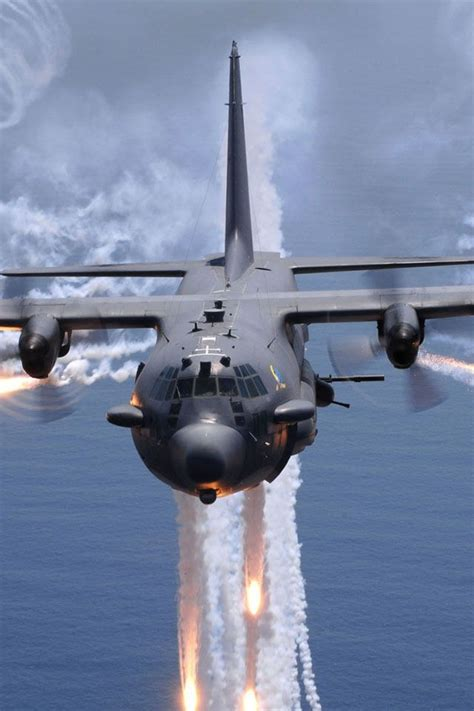 Ac Hercules the ac 130 gunship an aircraft with intimidating weapons flare hercules and c 130