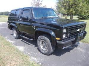 find used 1987 chevy blazer k5 fuel injected auto cold