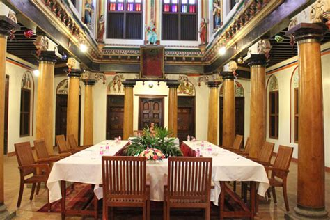 architectural features  chettinad houses chidambara vilas
