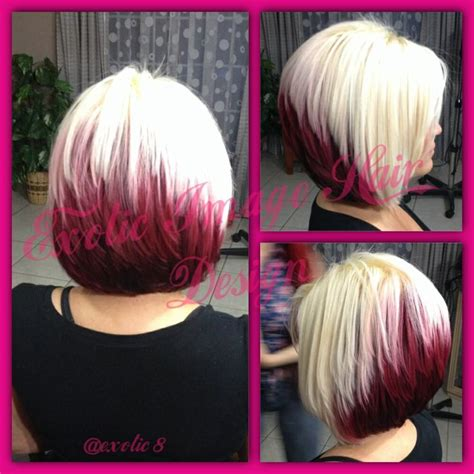 stacked bob haircuts dyed red 99 best hair done by me exotic image hair design located