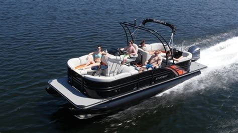boat parts ta 2017 starcraft sls 5 pontoon boat review boatdealers ca