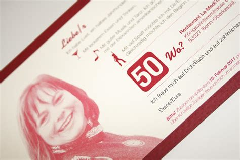 Einladungskarten Design Vorlagen einladung zum 50 geburtstag vorlagen vorlagen