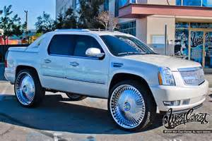 Wheels Truck Shoots Out Cars Donked Out Escalade Sweet Rides Future