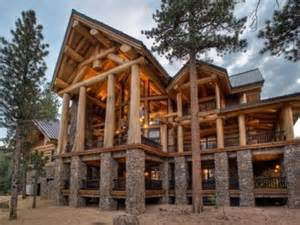 Colonial Luxury House Plans log cabin mansion interiors log cabin mansions floor plans