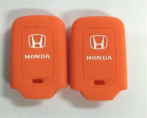 Kunci Silikon Remote Keyshirt Honda All New City E jual kunci silikon cover remote keyshirt honda hrv hr v jazz orange standi shop