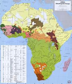 Ethnic Map Of Africa file africa ethnic groups 1996 jpg