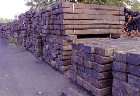 Cheap Reclaimed Railway Sleepers by Reclaimed Oak Sleeper Buy Railway Sleepers Uk Oak