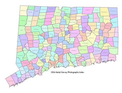 map of ct towns ct town map my