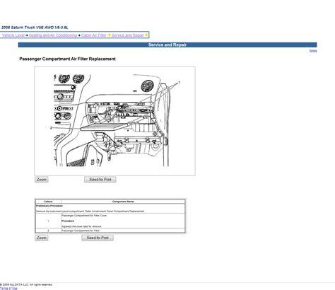 car repair manual download 2009 saturn vue engine control service manual 2009 saturn vue blower motor removal 2010 saturn outlook blower removal how