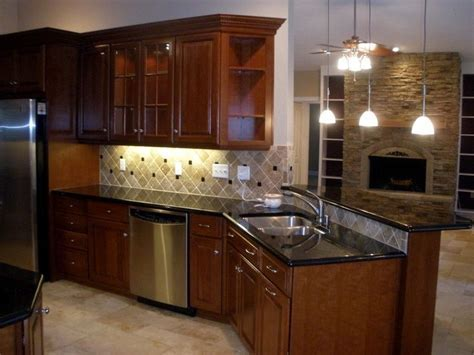13 best images about Cherry black granite kitchens on