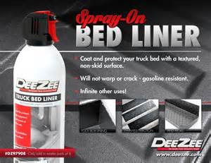 spray on bed liner new product deezee spray on bed liner taw all access