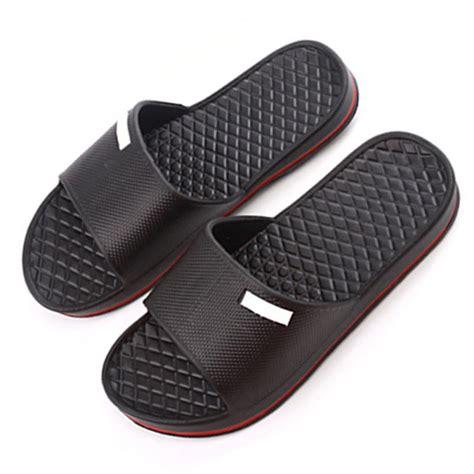 men s bathroom slippers men flip flops beach shoes sandals for home men slippers