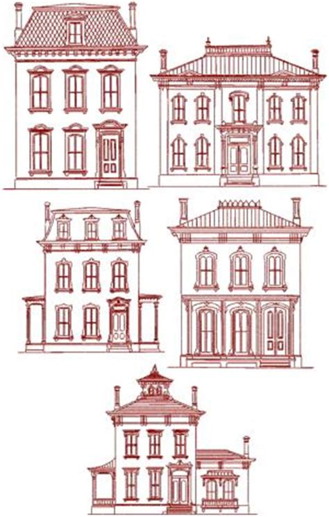 house embroidery design advanced embroidery designs victorian house redwork set
