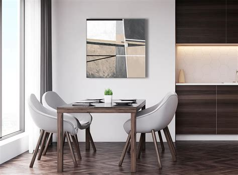 superb Orange Living Room Decor #5: next-beige-cream-grey-painting-abstract-dining-room-canvas-wall-art-decorations-1s394l-79cm-square-print.jpg