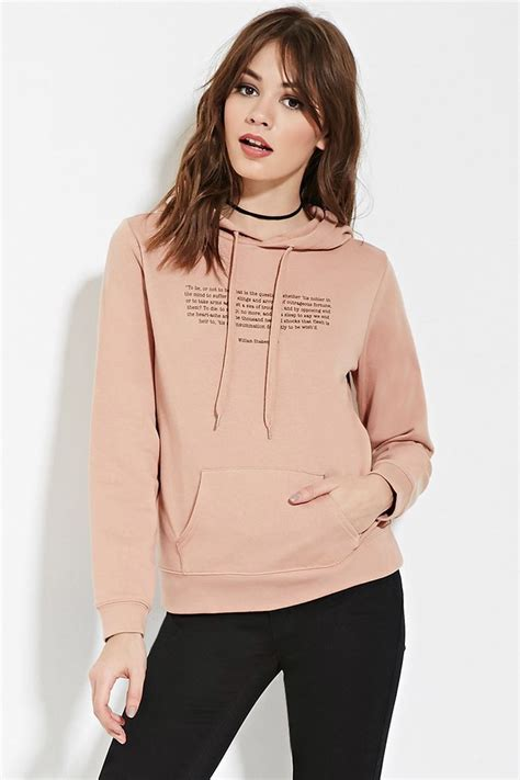 Sweter Hoodie Jetbus 1 hamlet quote graphic hoodie forever 21 canada fashion