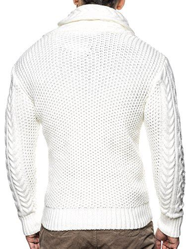Turtle Knit Abu leif nelson s knitted turtleneck cardigan xx large white apparel in the uae see