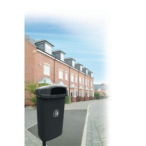 outdoor l post not working regent hooded wall or post mounted litter bin post not