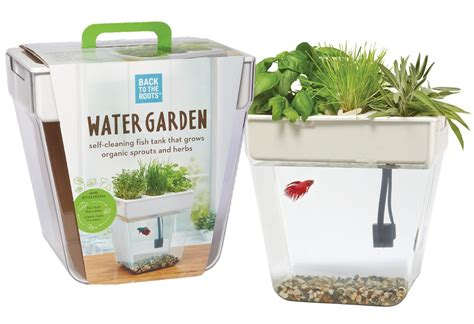 Garden Of Products Home Aquaponics Fish Tank Grow Edible Plants With The