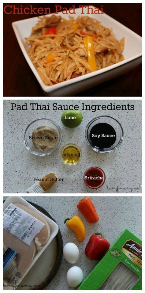 quick and easy pad thai sauce