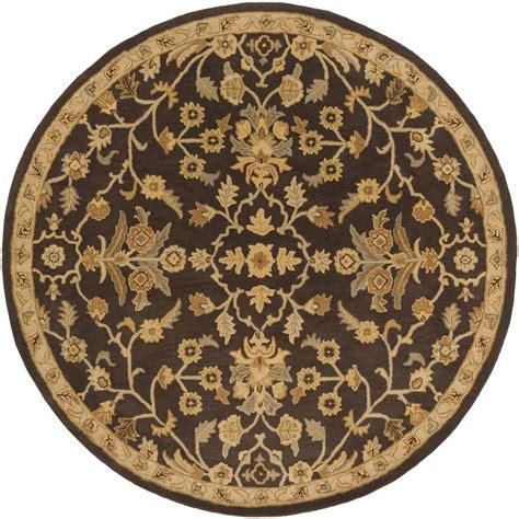4 X 4 Area Rugs Artistic Weavers Zari Black 4 Ft X 4 Ft Indoor Area Rug S00151007668 The Home Depot