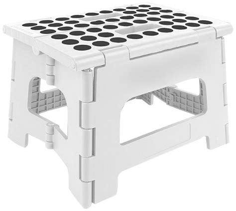 Kikkerland Rhino Folding Step Stool by 5 Best Folding Step Stool Get Height Wherever You