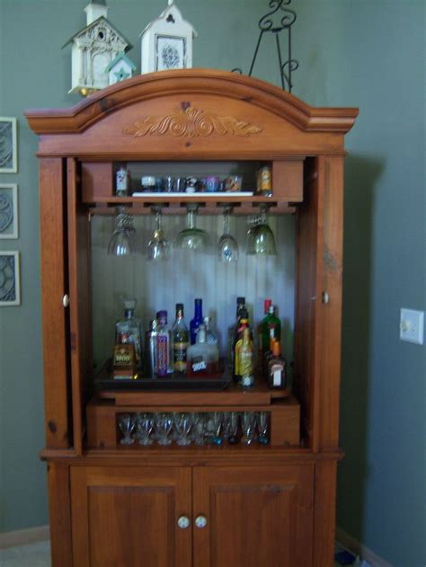 Armoire Liquor Cabinet by Best 25 Armoire Bar Ideas On Liquor Cabinet