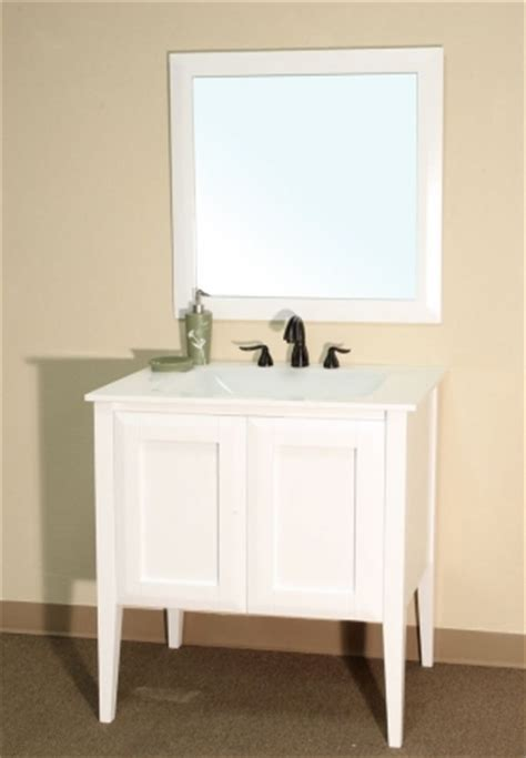 34 Inch Bathroom Vanity 34 Inch Single Sink Bathroom Vanity In White Uvbh20305434